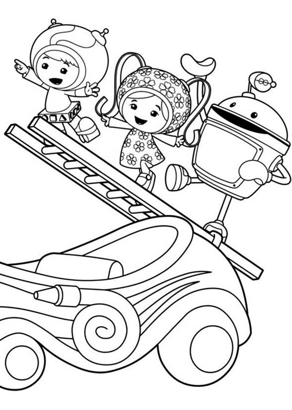 600x841 Printable Team Umizoomi Coloring Pages Coloring Me