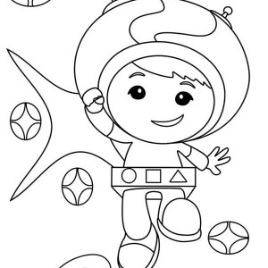 300x300 Team Umizoomi, Geo From Team Umizoomi Coloring Page Geo From Team