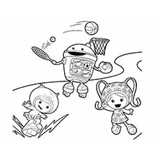 Team Umizoomi Coloring Pages Free Printable