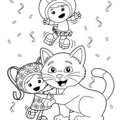 236x236 Team Umizoomi Coloring Pages Coloring Pages