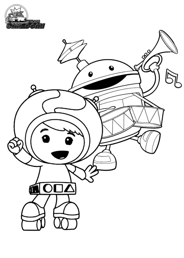 640x896 Team Umizoomi Coloring Pages Printable