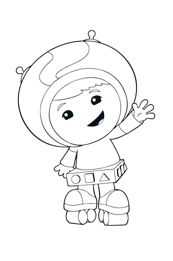 Team Umizoomi Coloring Pages Free Printable At Getdrawings Com