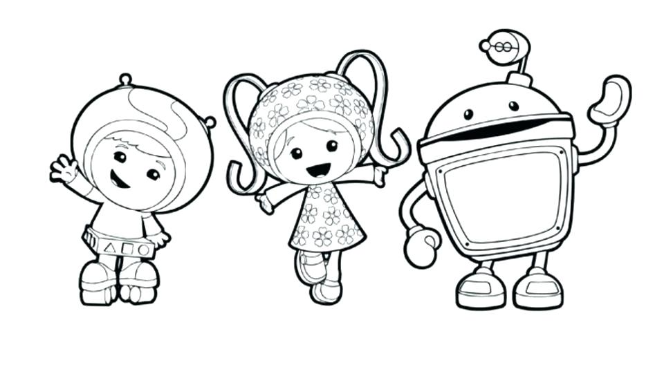 960x544 Umizoomi Coloring Pages Team Free Printable Umizoomi Coloring