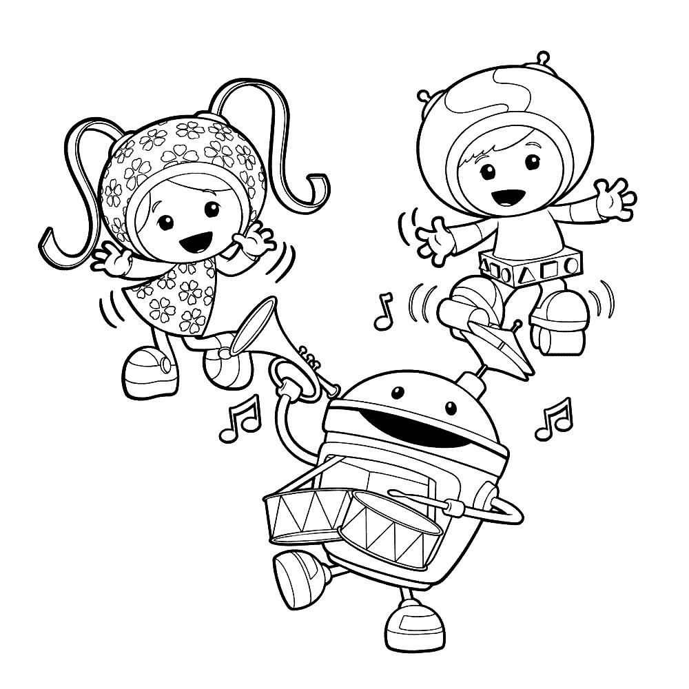 1000x1000 Free Printable Team Umizoomi Coloring Pages For Kids Umizoomi