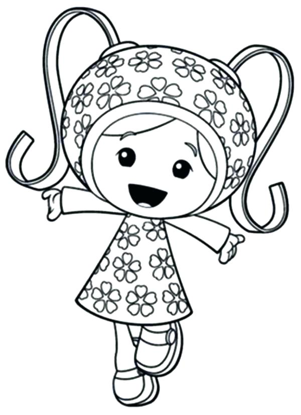 600x829 Free Team Umizoomi Coloring Pages Printable Kids Coloring Free