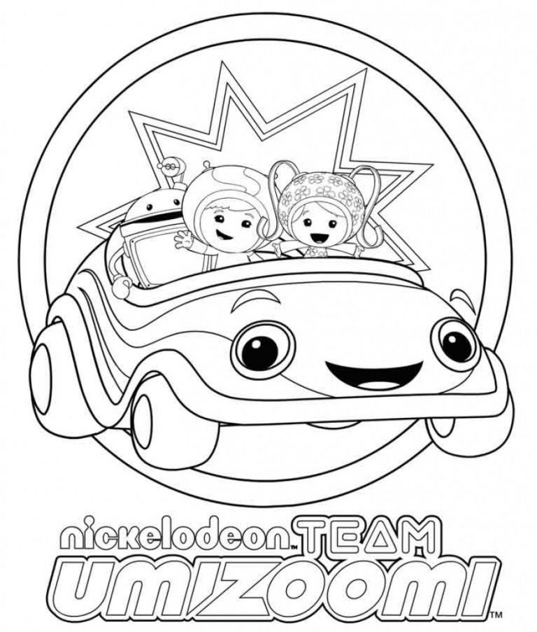 768x903 Nick Jr Printables Team Umizoomi Coloring Pages All Ages Index