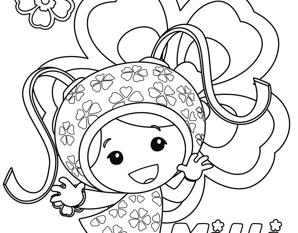 980x768 Team Umizoomi Coloring Pages Free Printable Team Umizoomi Coloring
