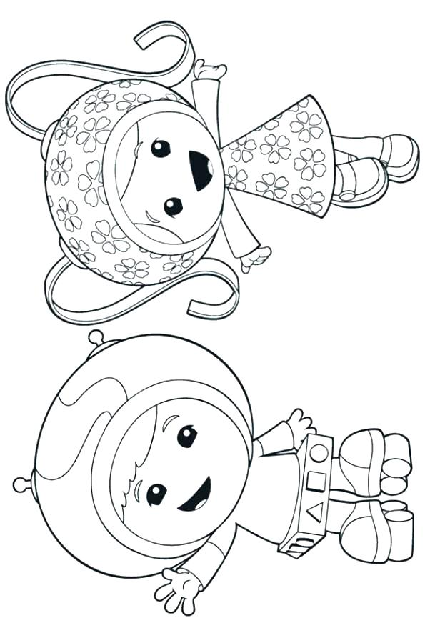 595x893 Umizoomi Coloring Pages Coloring Pages Printable Team Colouring