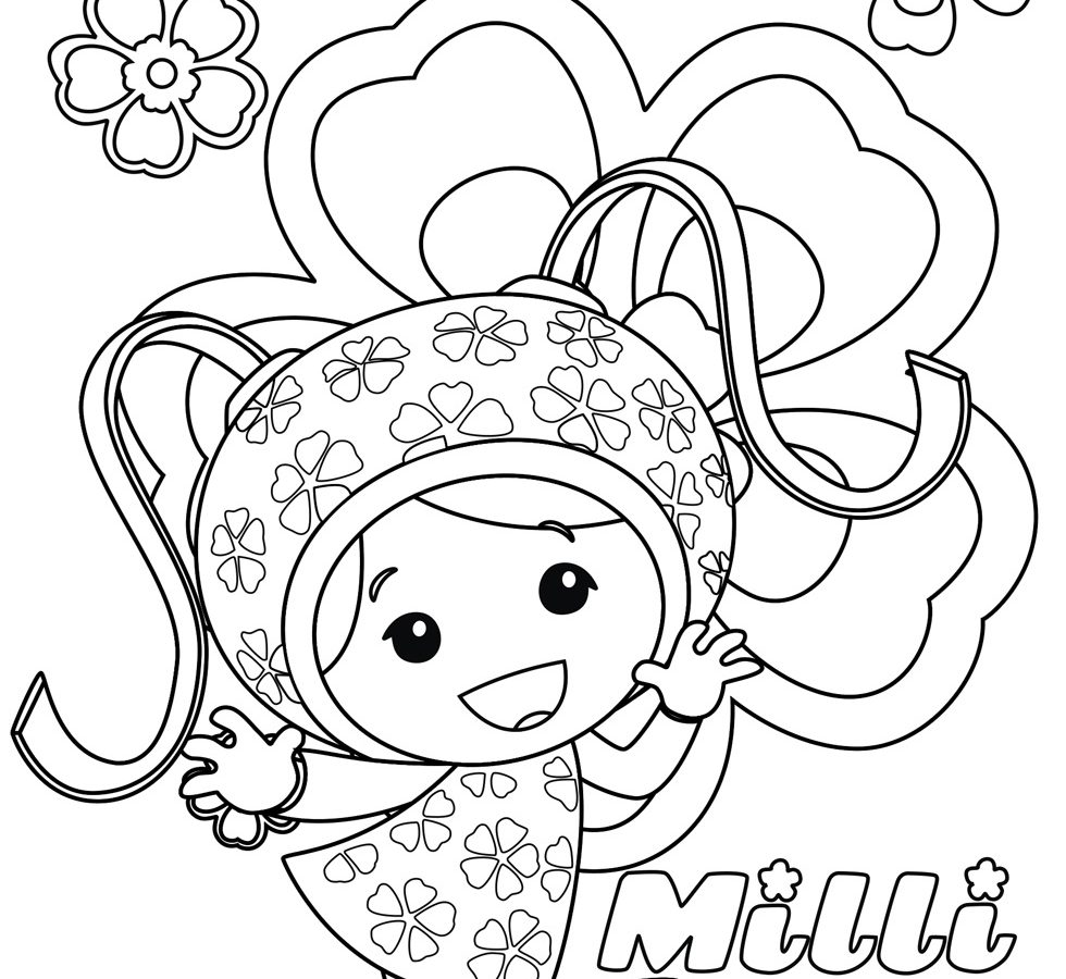 980x900 Umizoomi Coloring Pages For Kids Team Printable Free To Print