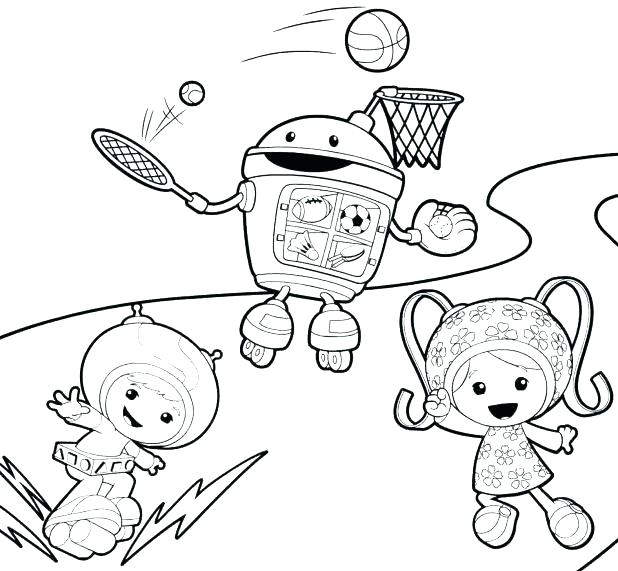 618x571 Umizoomi Coloring Pages Printable Related Post Free Team Umizoomi