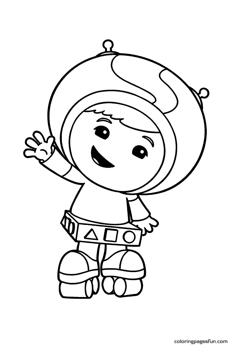 800x1201 Printable Team Umizoomi Coloring Pages For Kids Umizoomi Coloring