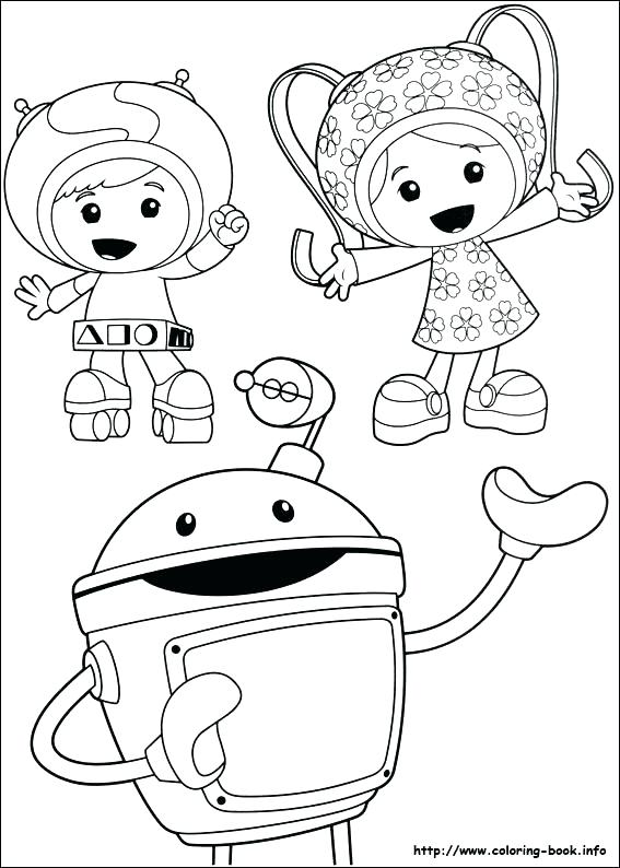 567x794 Team Umizoomi Coloring Pages