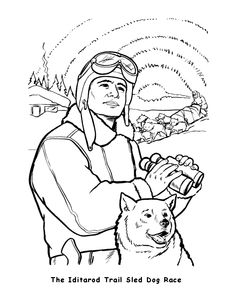 236x288 Dog Sled Coloring Page Life Skills Lessons, Life Skills And Teamwork