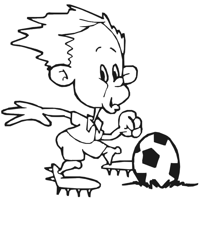 700x782 Soccer Coloring Pages Pictures Free Coloring Pages