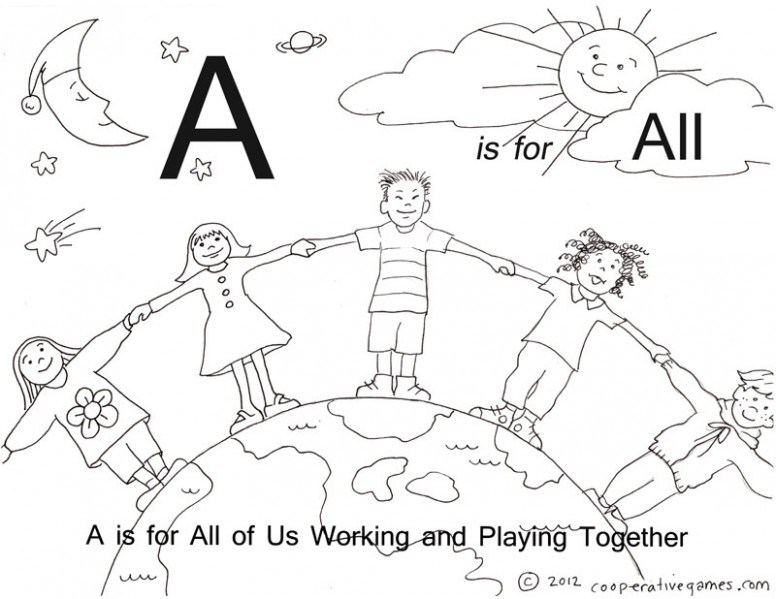 776x599 Teamwork Coloring Pages Fabulous Gymnastics With Teamwork