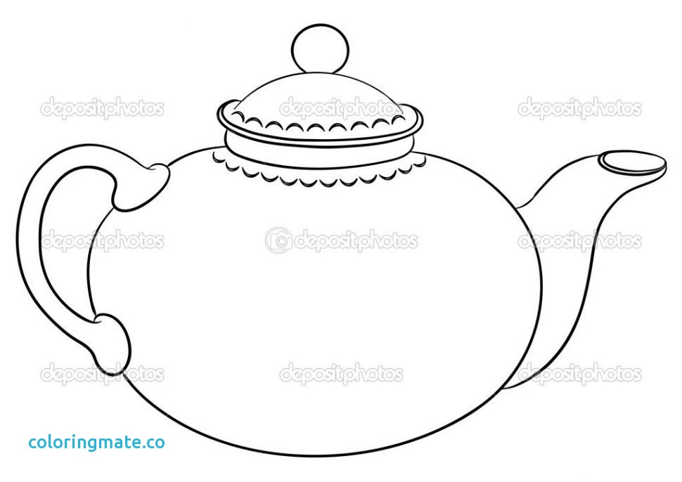 photo about Teapot Template Free Printable titled The suitable totally free Teapot coloring site visuals. Down load against 69