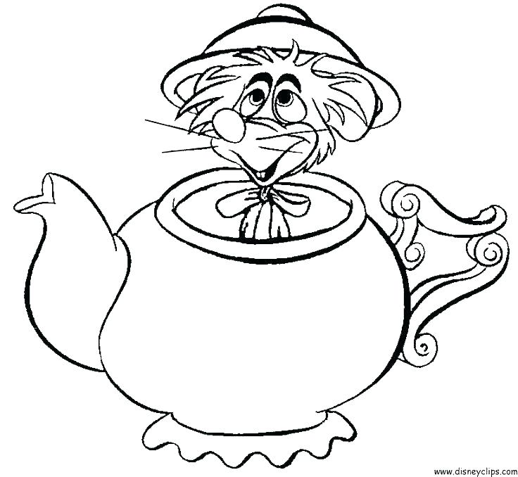 The Best Free Teapot Coloring Page Images Download From 50 Free