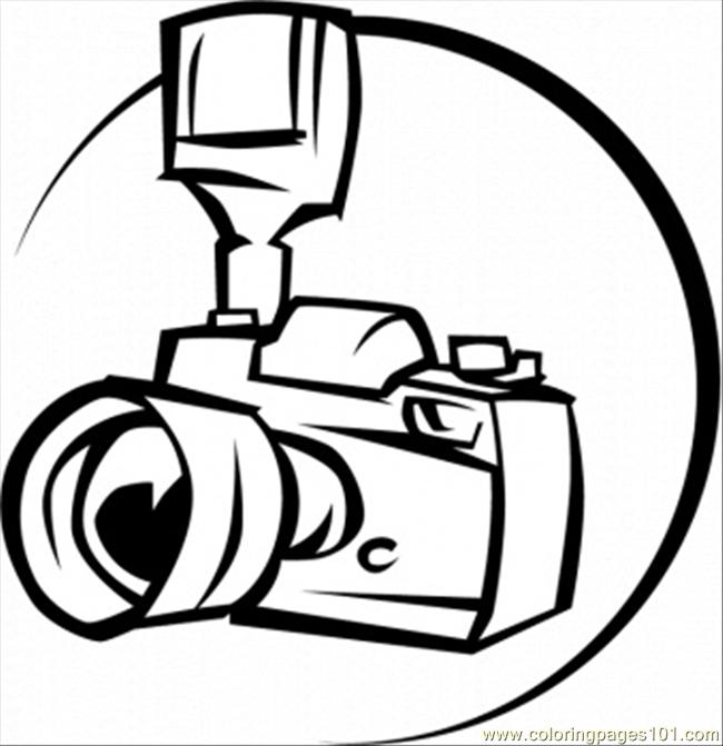 650x671 Printable Camera Pages Camera