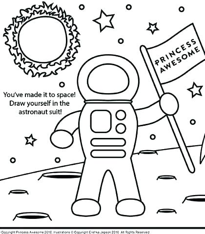 420x480 Rocket Coloring Pages