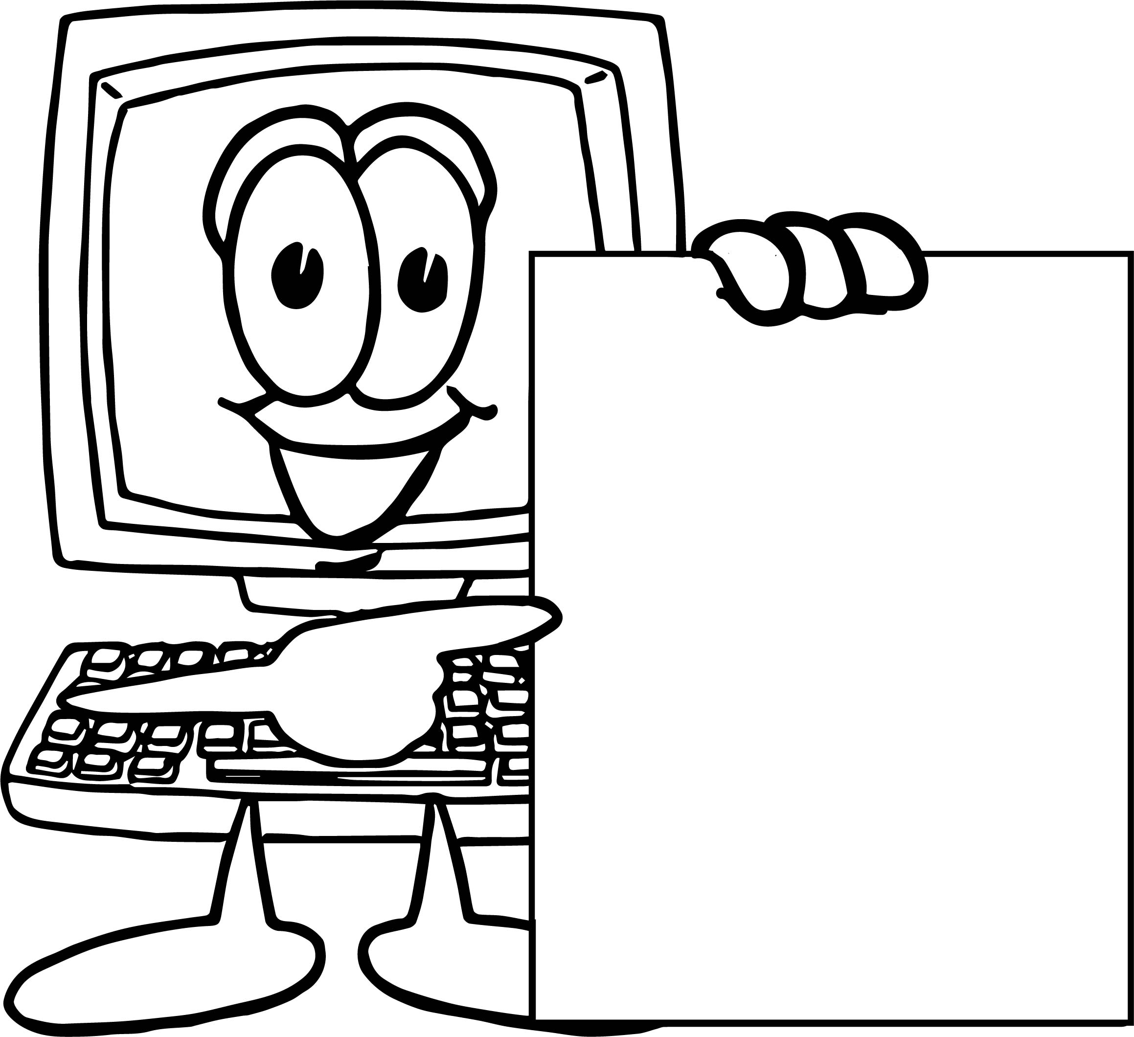 2318x2120 Computer Coloring Page Parts Pages Technology