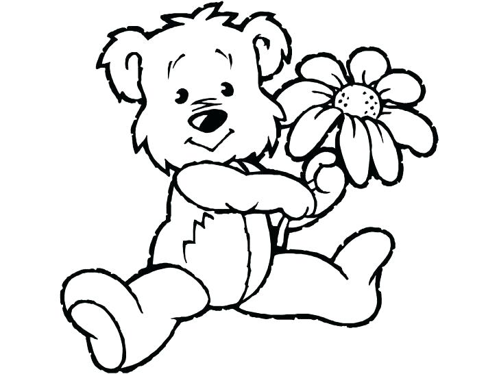 728x546 Coloring Pages Teddy Bears Coloring Page Bear Perfect Harmony Care