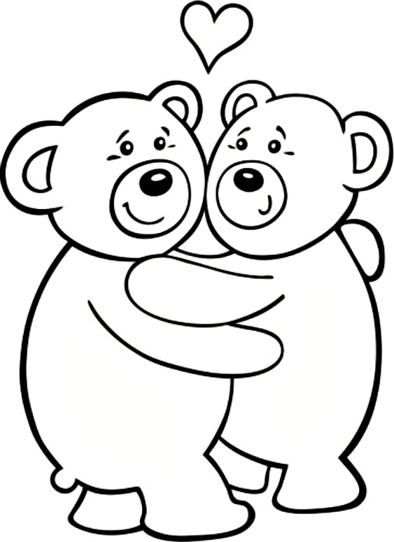 563x775 Free Printable Teddy Bear Coloring Pages For Kids