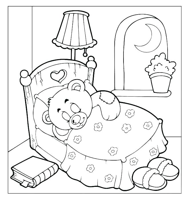 661x707 Teddy Bear Coloring Pages To Print Epi On Coloring Page Free Bear