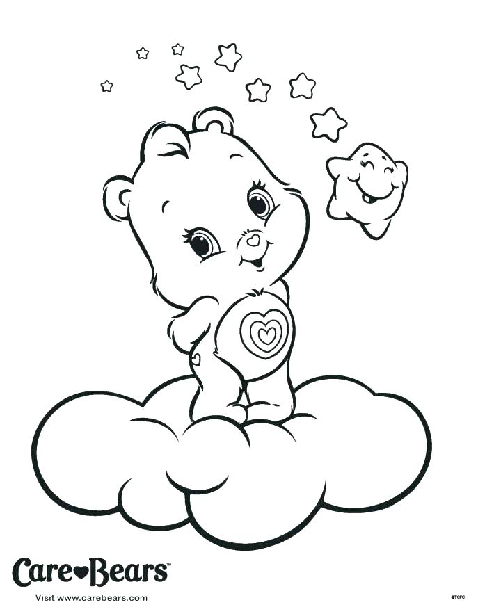 687x883 Teddy Bear Coloring Pages Free