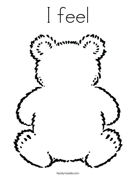 468x605 Coloring Pages Spanish Feelings Coloring Pages Blank Teddy Bear