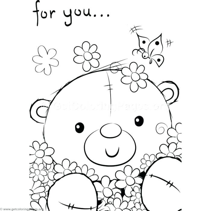 700x700 Coloring Pages Teddy Bears Cute Teddy Bears Coloring Pages Free