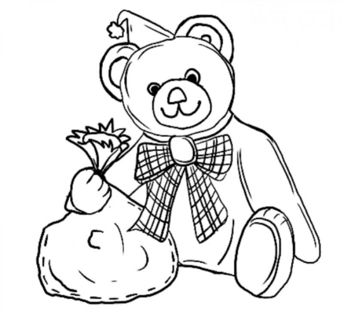 1200x1080 Free Printable Teddy Bear Coloring Pages For Kids