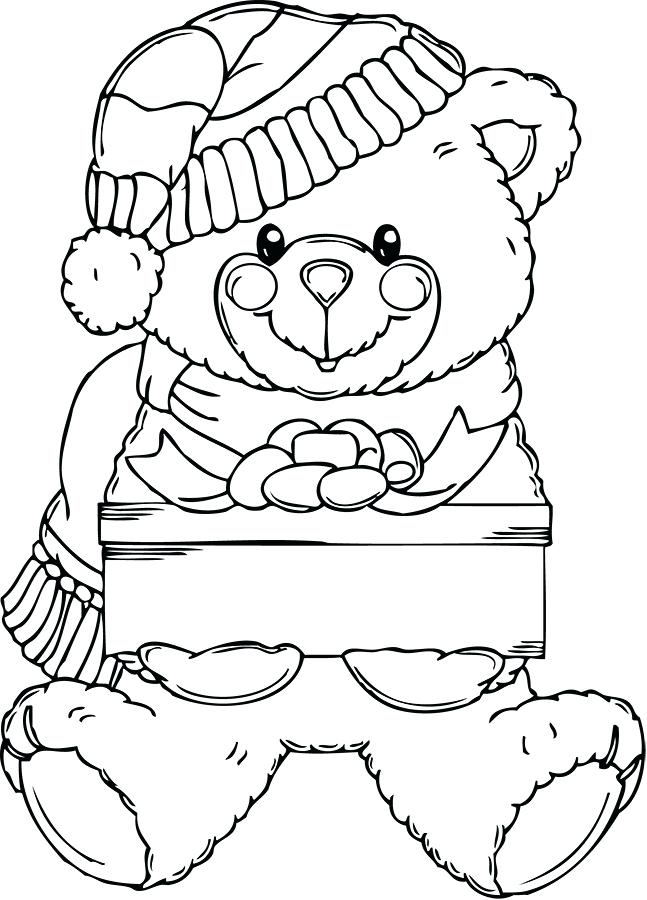 647x900 Free Printable Teddy Bear Coloring Sheets Pages Picture Fuhrer