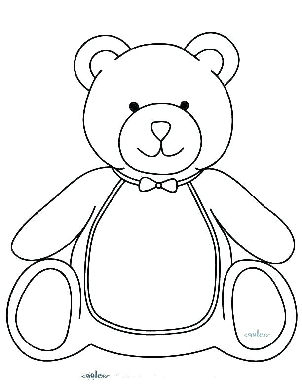 612x792 Teddy Bear Coloring Pictures