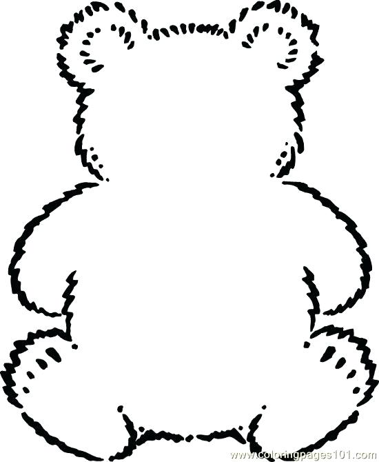 Teddy Bear Coloring Pages To Print At Getdrawings Com Free For