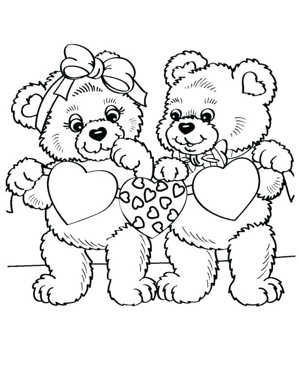 618x800 Free Printable Teddy Bear Coloring Pages For Kids Teddy Bear