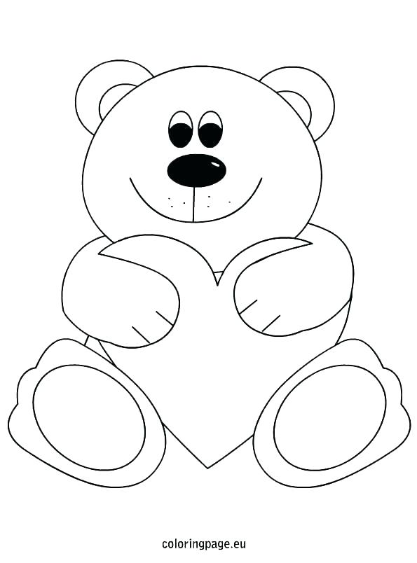 595x804 Cute Teddy Bear Coloring Pages Coloring Pages Teddy Bears Free