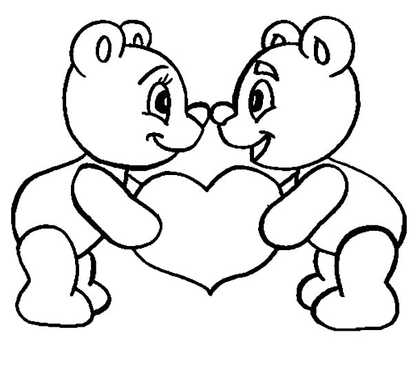 600x550 Holding Love Together I Love You Coloring Pages Batch Coloring