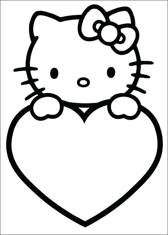 567x794 Teddy Bear With Heart Coloring Pages