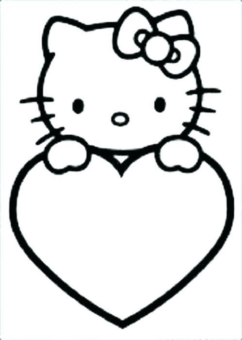 499x700 Coloring Page Of A Heart Heart Coloring Page Printable Hearts