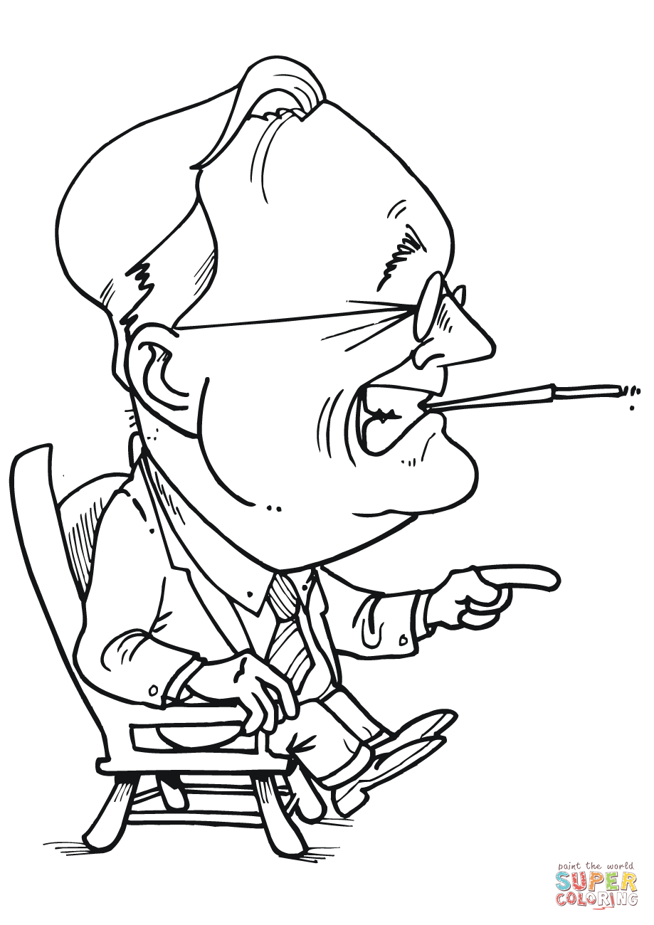 919x1300 Full Theodore Roosevelt Coloring Page Franklin
