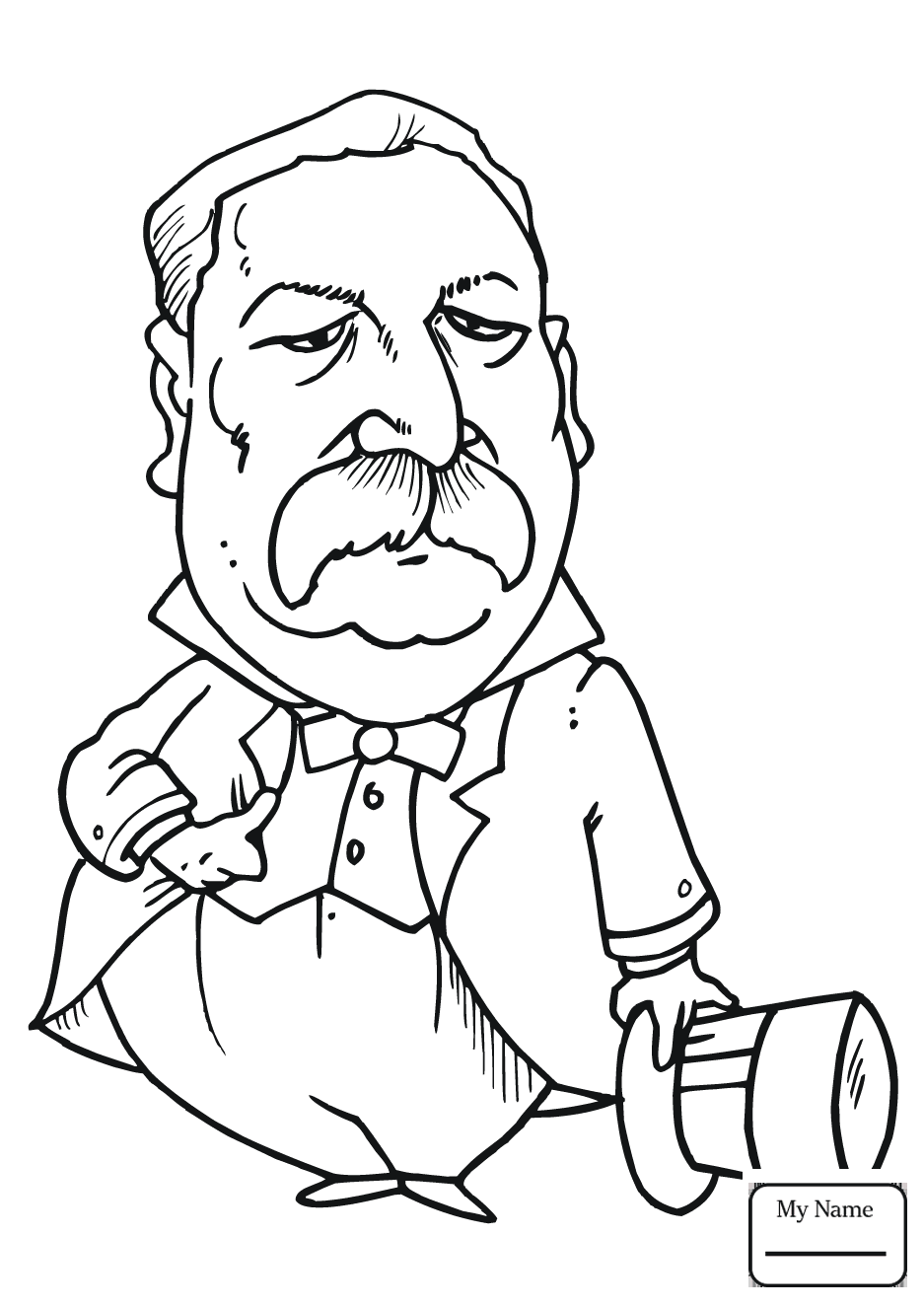 937x1326 Innovative Theodore Roosevelt Coloring Page