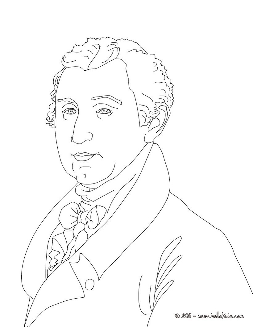 820x1060 President Theodore Roosevelt Coloring Pages