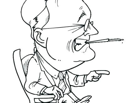 440x330 Theodore Roosevelt Coloring Page Drawing Theodore Roosevelt