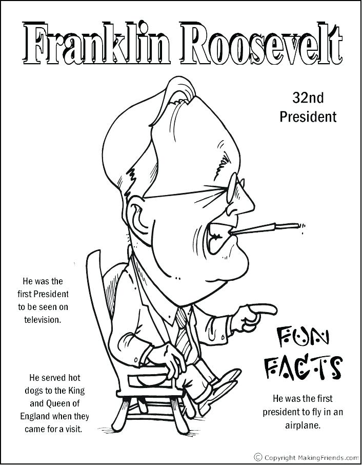706x906 Coloring Page Coloring Pages Eleanor Roosevelt Coloring Page