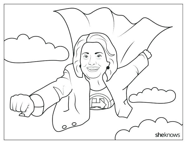 600x463 Eleanor Roosevelt Coloring Page Famous Women Coloring Book