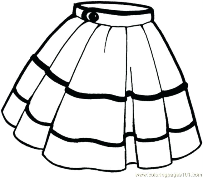 650x570 Shirt For Coloring Skirt Coloring Page Tee Shirt Coloring Sheet