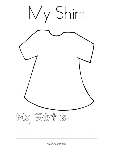 468x605 T Shirt Coloring Page Blank T Shirt Coloring Sheet Here Are T
