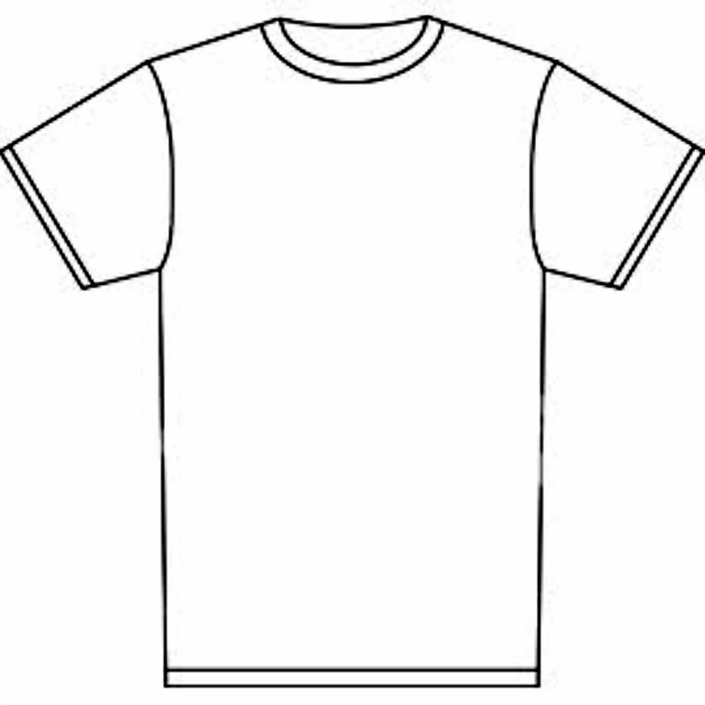 Tee Shirt Coloring Page at GetDrawings | Free download