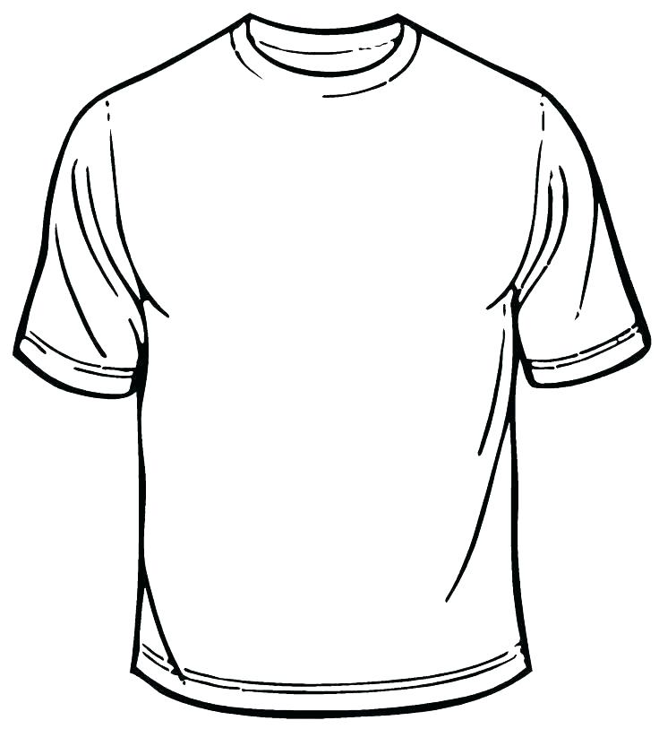 736x813 T Shirt Coloring Pages T Shirt Coloring Page Coloring Page T Shirt