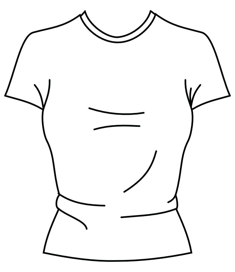 800x926 Tshirt Coloring Page Blank Coloring Pages Coloring Pages Free T